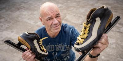 Oud-marathonschaatser Lammert Huitema. Foto: Jaspar Moulijn