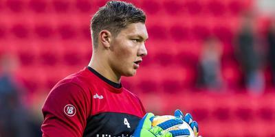 FC Emmen-doelman Kjell Scherpen. Foto ANP