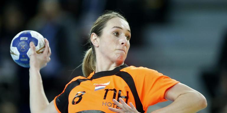 Handballer Lois Abbingh. Foto: Henk Jan Dijks