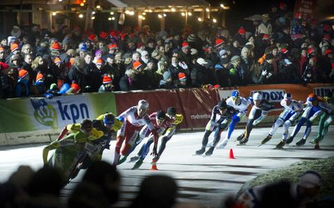 Vanochtend meet KNSB de ijsdiktes: Noordlaren maakt goede kans op NK marathon