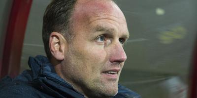 FC Emmen-trainer Dick Lukkien. ANP Pro Shots