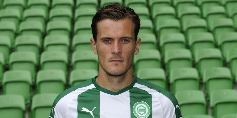 Etiënne Reijnen in zijn tijd als speler van FC Groningen. Foto DvhN