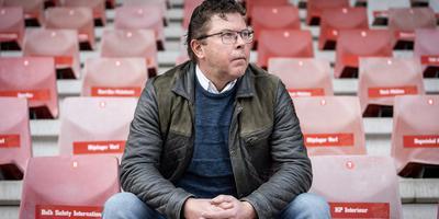 Wim Beekman, scheidend directeur van FC Emmen. Foto: Jaspar Moulijn