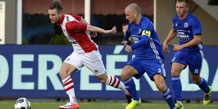 Cas Peters start net als tegen Almere City FC in de basis