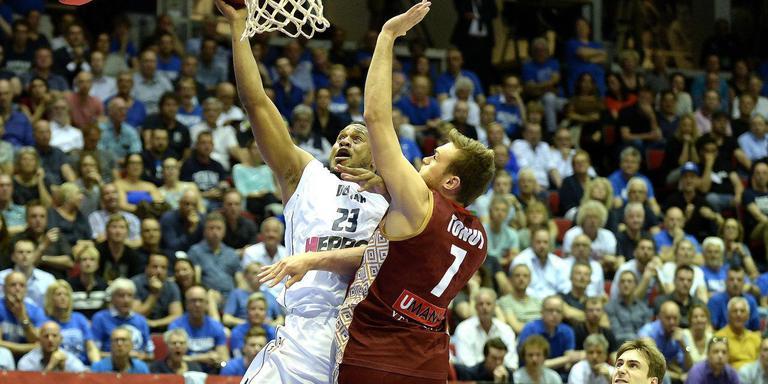 Donar reikte vorig seizoen tot de halve finale van de FIBA Europe Cup, waarin het werd uitgeschakeld door Venetië. Foto archief DvhN