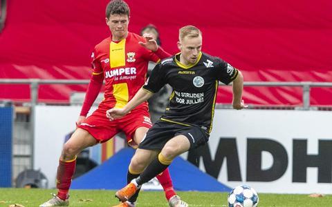 Aanvaller Romano Postema van FC Groningen rijpt in Den Bosch: Ik kom terug als eerste spits, dat is mijn bedoeling