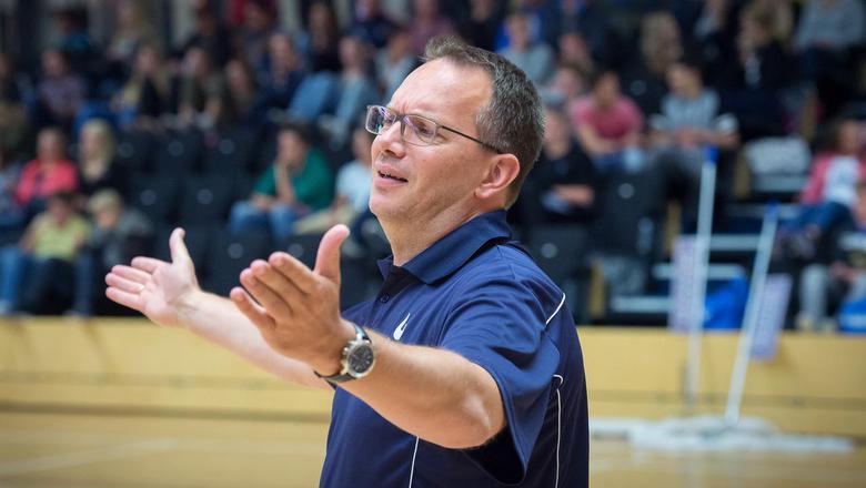 Donar-coach Erik Braal. Foto archief DvhN