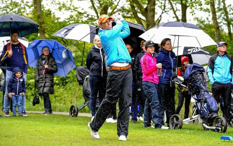 Golfsters van de Noord-Nederlandse mogen toch nog hopen op kruisfinales om Nederlandse titel
