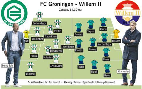 Danny Buijs wil gaten slaan met de middenmoot, Robben misschien in december weer op het veld