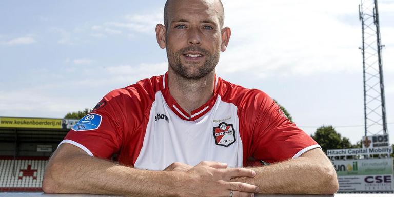FC Emmen-aanwinst Nicklas Pedersen is naar eigen zeggen topfit en kan zondag gelijk meedoen tegen ADO Den Haag. Foto Jan Kanning