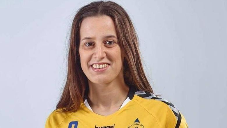 Maria Ramos, de Portugese handbalster van Hurry-Up.