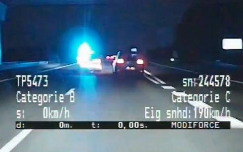 Politie De Fryske Marren helpt bij 100 kilometer lange achtervolging.