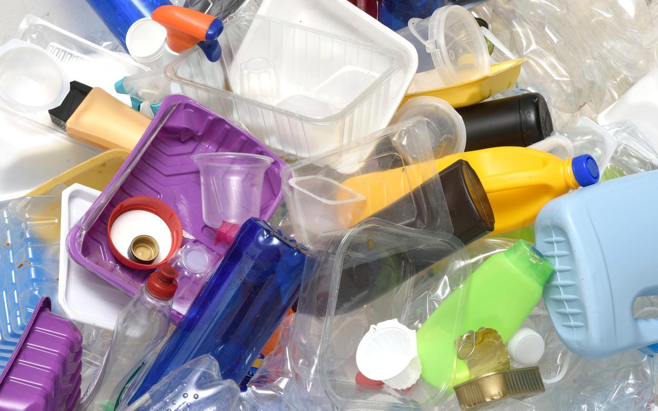 Plastic afval.
