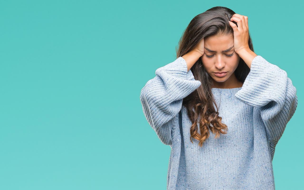 Veel vrouwen hebben last van migraine wanneer ze ongesteld zijn.